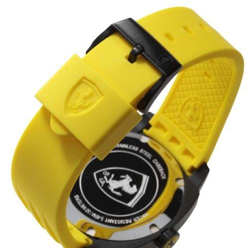 Scuderia Ferrari Aerodinamico Watch Yellow NEW #ferrari #ferraristore #scuderiaferrari #watch #collection #new #aerodinamico #exclusive #style #prancinghorse #cavallinorampante #passion #carbon #alarm #data #timezone #waterproof #cronograph #alarm #yellow #detail #silicone