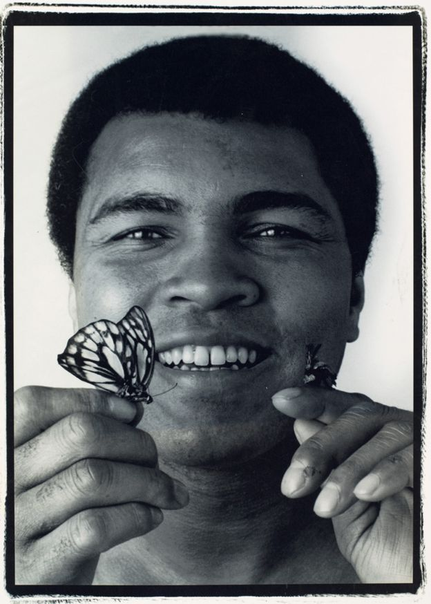 Muhammad Ali by John Stewart, the photographer who, amongst others, charmed Picasso.