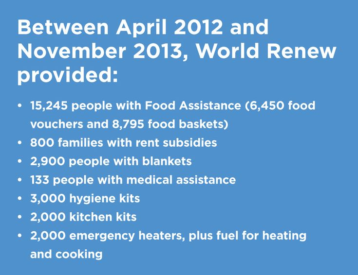 See how World Renew is responding to the Syrian Conflict. Read more about our response...