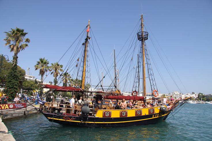 Have heard about the Island tour and would like to try when on #Kos in 2014? Eva Boat at the Harbour will welcome you on board.