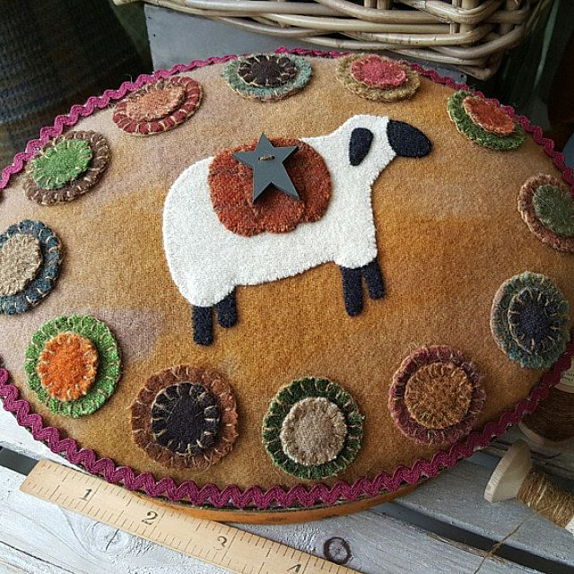 Wooly Patterns with Wool Threads por ThewoolythreadCo en Etsy