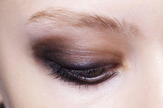 smokey dramatic eye makeup