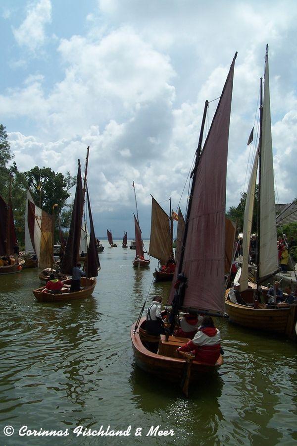 Corinnas Fischland & Meer: Zeesboote