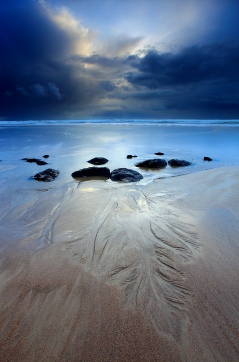 Godfreys Beach, Stanley, Tasmania, Australia.