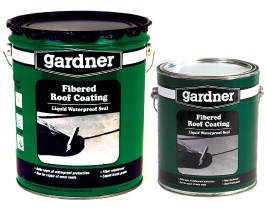 Gardner 010 GA Is A Heavy Duty Fibered Roof Coating Of Brush Consistency. It