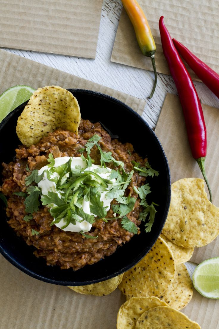 Mexican Bean Dip By Nadia Lim
