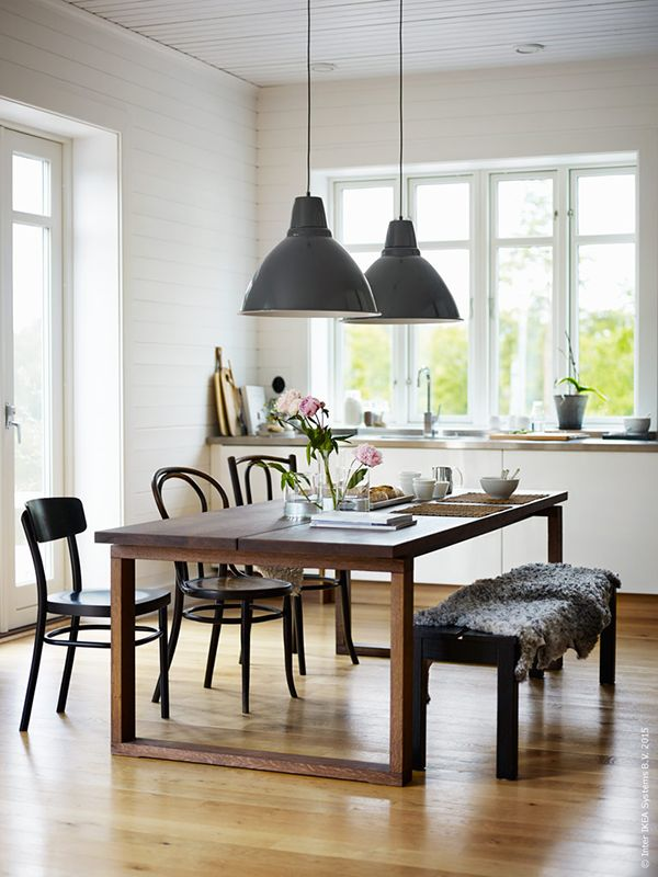 239 best scandinavian dining images on pinterest dining for Kitchen come dining room ideas