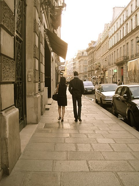 on a wonderful quiet street in Paris. If only for a few weeks.
