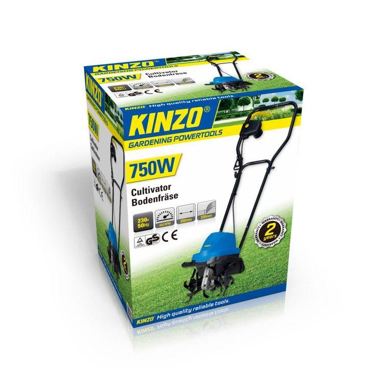 Kinzo Cultivator bodemfrees 750W #kinzo #gereedschap #bodemfrees #cultivator