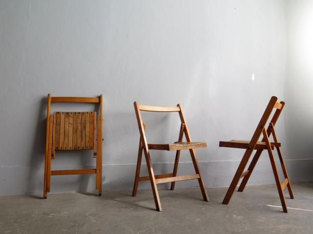 Vintage Folding Garden Chair for sale at Pamono