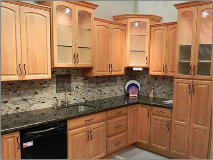 Kitchen Wall Color With Honey Oak Cabinets   Painting : Best Home Design  Ideas