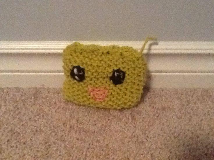 A very cute hand-made stuffy!