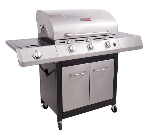 Char-Broil Performance TRU Infrared 480 3-Burner Gas Grill with Side Burner and Cabinet (Discontinued by Manufacturer)