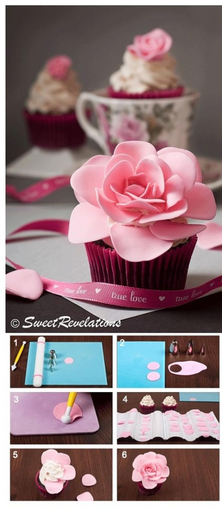 Ces minis tutoriels photo vous aideront si vous travailler la pâte à sucre ou d'amande (fondant) pour décorer les gâteaux! Mais, ils seront aussi utiles si vous travaillez la pâte fimo! La pâte polymère se travaille exactement de la même façon, et av