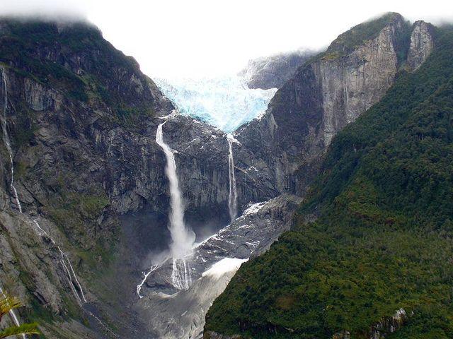 Parque nacional Queulat - Ventisquero Colgante - Patagonia Chilena