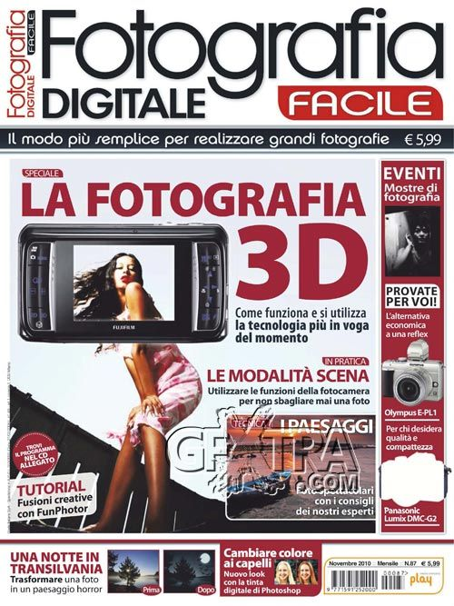 Fotografia Digitale Facile No.10, Novembre 2011