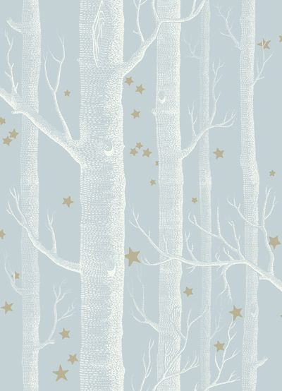 Cole and Sons Whimsical Wallpaper Wood and Stars isn't this perfect for a nursery?