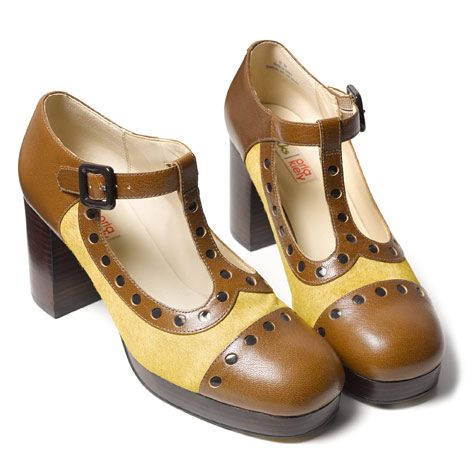 Orla Kiely AW14 Clarks collection - can't wait to see the rest of the range, because these are great!