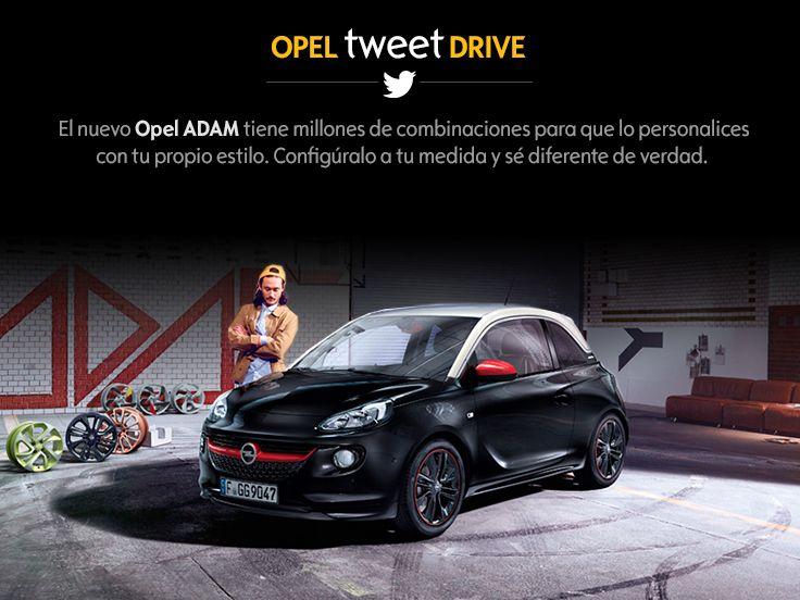 Descubre todo sobre Opel ADAM y mucho más en opel.es