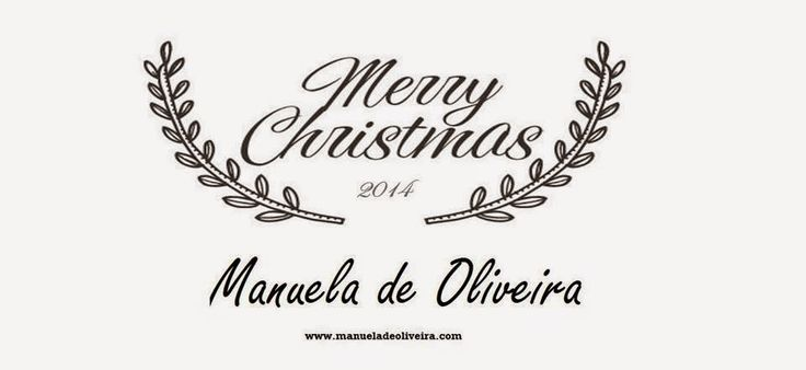 Manuela de Oliveira Acessórios: Feliz Natal - Manuela de Oliveira
