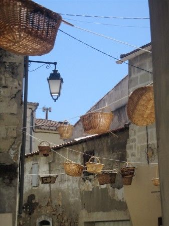 Basket festival in Vallabregues.