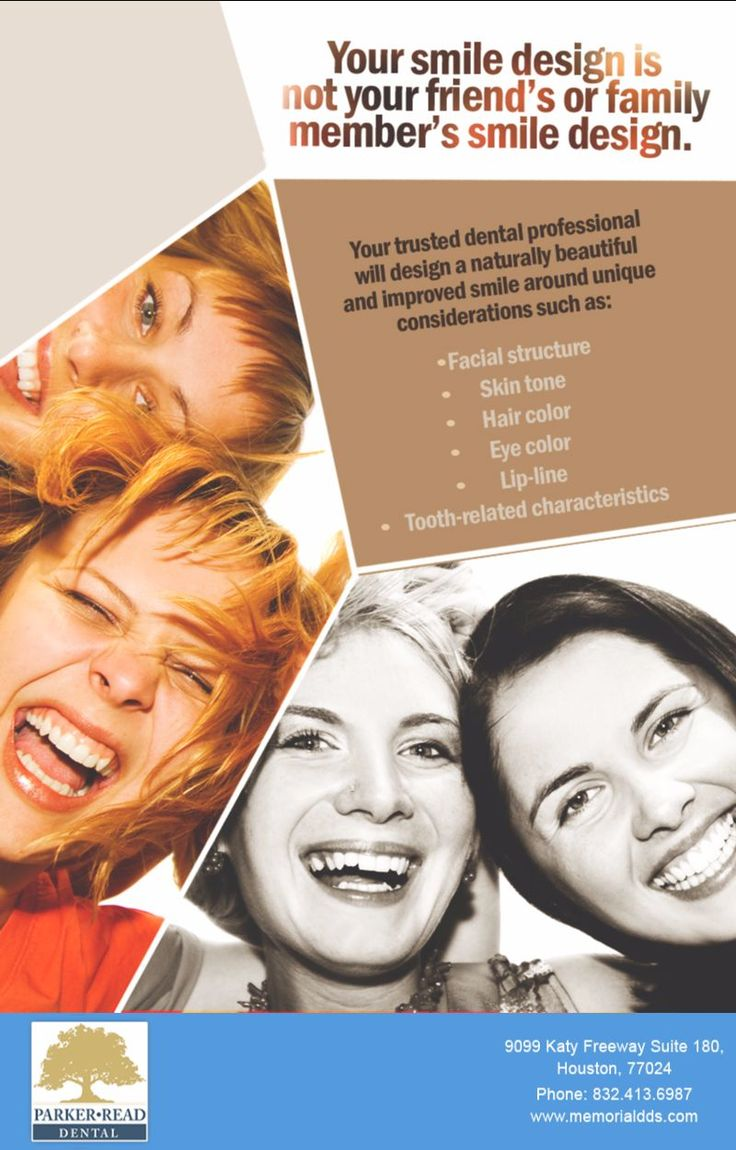Parker-Read Dental Group creates a smile that is uniquely yours with everything from teeth whitening and dental bonding, to Invisalign and dental #implants. Call 832.413.6987 to schedule your #smile design consultation. #BestDentist #HoustonDentalCare