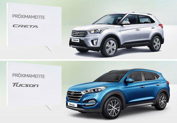 Hyundai ya acepta interesados en las nuevas Creta y Tucson