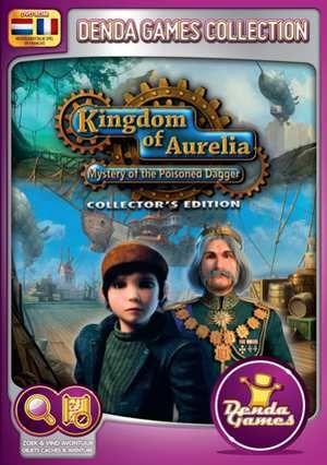 Kingdom Of Aurelia - Mystery Of The Poisoned Dagger (Collectors Edition)  Help de dappere Sam het leven van een vergiftigde prinses te redden in een onvergetelijk avontuur vol technische snufjes! Onlangs slaagde de moedige prinses Aurora er samen met de magiër Pharion in een tiran uit het rijk Aurelia te verdrijven en haar familie te bevrijden. Overal in het land werd feestgevierd. Niets leek het geluk van Aurelia meer in de weg te staan maar toen de twaalfjarige Sam samen met Aurora van de…