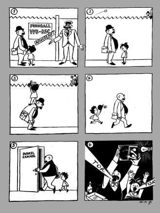 Unter dem Pseudonym e.o.plauen wurde der Cartoonist Erich Ohser über die Grenzen Deutschlands bekannt. 1944 wurde er von einem guten Bekannten denunziert und nahm sich vor dem Prozess das Leben.