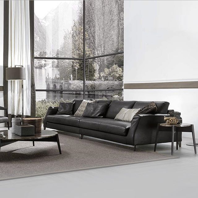 Leather Sleeper Sofa Visit our Sydney showroom and sink into the deep soft and luxurious Davis sofa