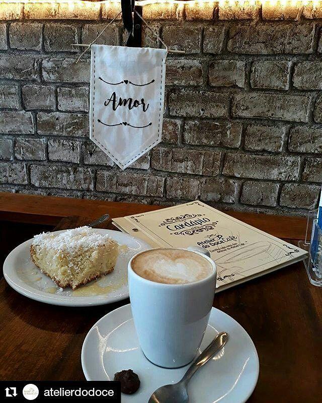 """37 curtidas, 1 comentários - Um Pontinho (@umpontinhobordados) no Instagram: """"Ai que vontade de tomar esse café... @atelierdodoce ❤❤❤ #atelierdocafe #cafe #anarech #umpontinho"""""""