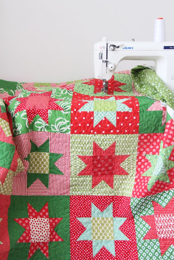 photo regarding Free Printable Christmas Sewing Patterns identify Xmas Superstars with Absolutely free Routine Quilt Designs Xmas
