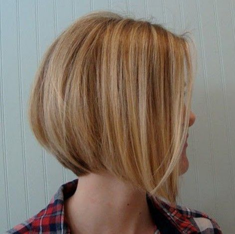 Side View of Graduated Bob Cut - Short Hairstyle for Female
