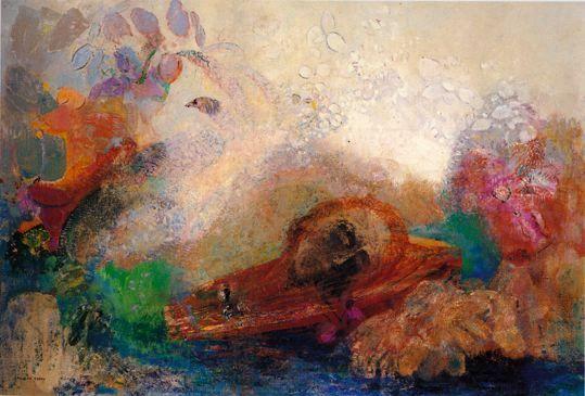 La mort d'Orphée - Odilon Redon