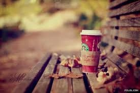 starbucks in the fall <3: Benches, Autumn, Starbucks Coff, Fall, Christmas, Cups Of Coff, Holidays, Drinks, Pumpkin Spices Latte