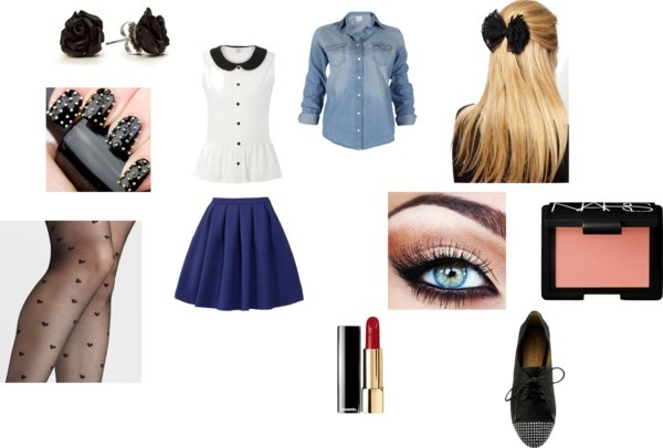 Dressy school outfit!
