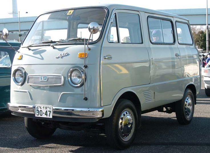 Japanese Classic Car Maniac Daihatsu ダイハツ クラシックカー レトロバス