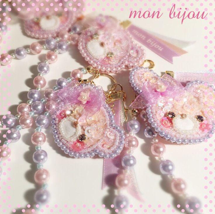 Cute (・ω・)ノ 日本 DIY Pastel handmade JP Cr: mon liiou  #handmade #pastel #harajuku…