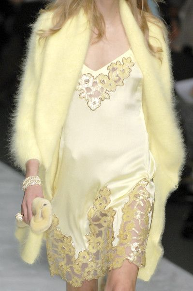 The angora sweater may not be knit - but it could be - Gorgeous anyway!Blumarine