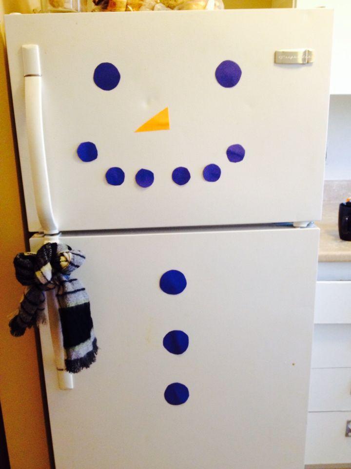 Frosty fridge