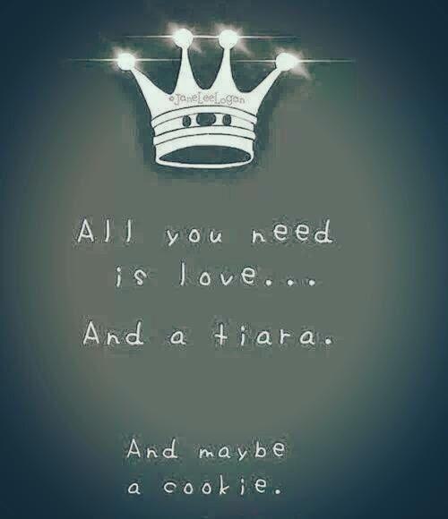 And a tiara