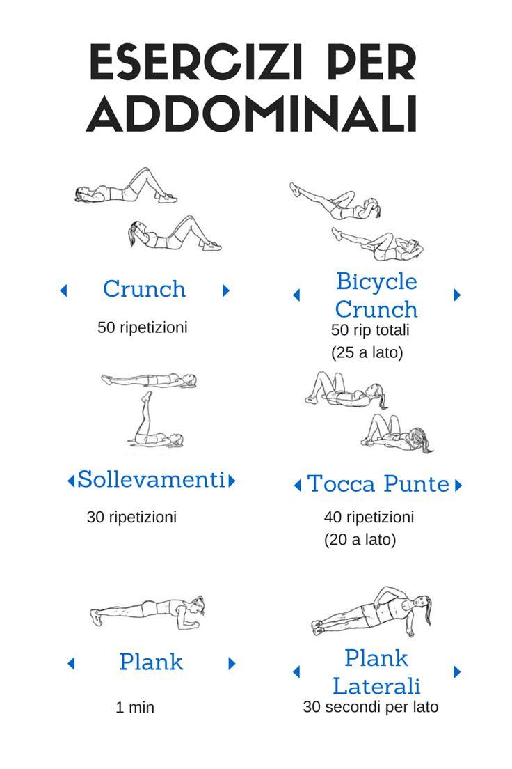 Esercizi Preferiti per gli Addominali | http://danielavolpe.it/esercizi-preferiti-per-gli-addominali/