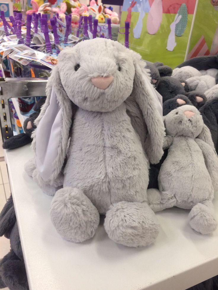 Light grey medium bunny at Target - $35
