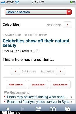 Natural Celeb Beauty