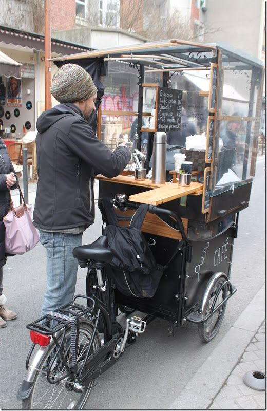 Parisien Coffee Cart - oH I would love this.