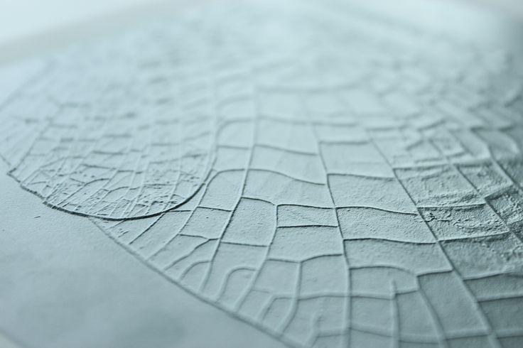 2.5D printed insect wing - Ontwerpstudio Schmitz & Daan de Haan