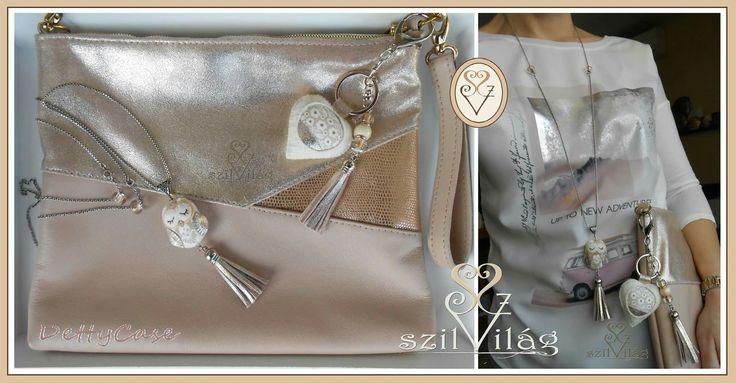 www.facebook.com/szilvilag Kézzel varrt gyapjúfilc kulcstartó-táskadísz, bagoly lánc , garnitúra a kistáskához <3  fuzió #táska #handmade #bagdecor #keyholder #keyring #baggy #giftbag #jewel #jewelry #rosegold #leather #fashion #tavasz #virágos #szilvilág #dettycase #merger #fuzió #kulcstartó #táskadísz #táskaékszer #ékszer #divat