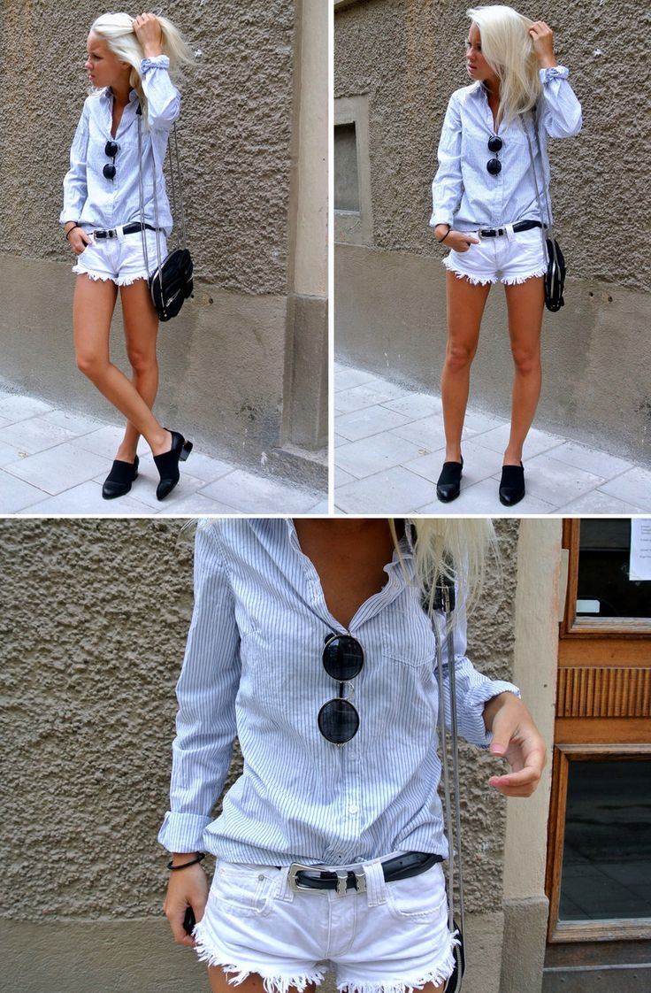 .Weekend Outfit, Zara Belts, White Shorts, Fashion Clothes, Fashion Clothing, Clothing Shoes Accessories, High Street Fashion, Cute Outfit, Beach Weekend