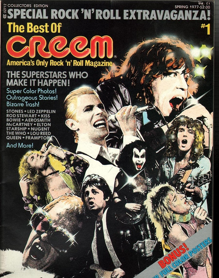 Image result for creem magazine 1977