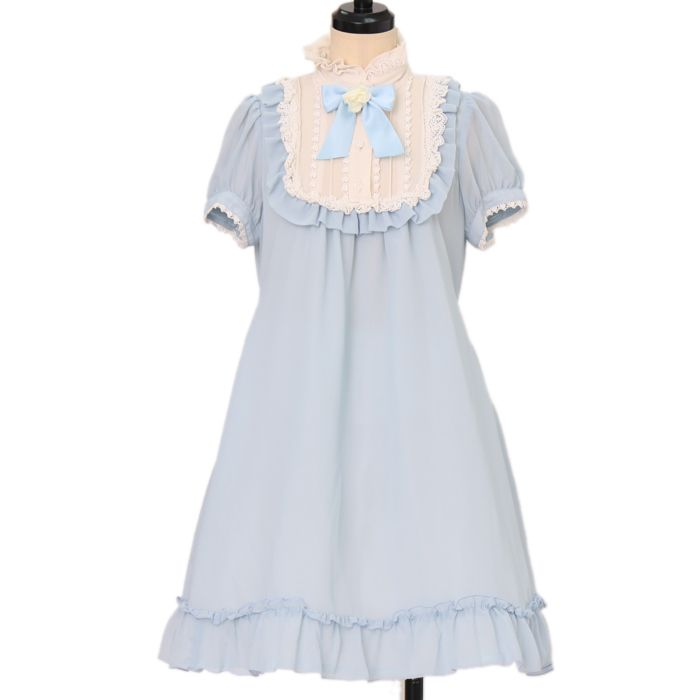 Worldwide shipping available ♪ Innocent World ☆ ·. . · ° ☆ chiffon stand collar dress https://www.wunderwelt.jp/products/w-17832  IOS application ☆ Alice Holic ☆ release Japanese: https://aliceholic.com/ English: http://en.aliceholic.com/